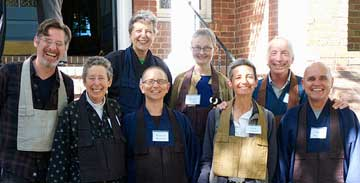 Organizers of the 2013 Branching Streams Meeting, San Francisco Photo by Renshin Bunce