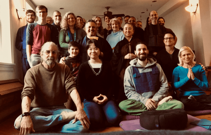 Members of All Beings Zen Sangha in Washington, DC, made the climate crisis the topic of their Fall 2019 Ango