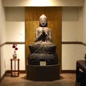 Buddha statue photo by Jon Voss
